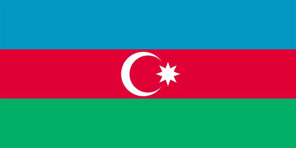 Aserbaidschan Flagge 90x150 cm