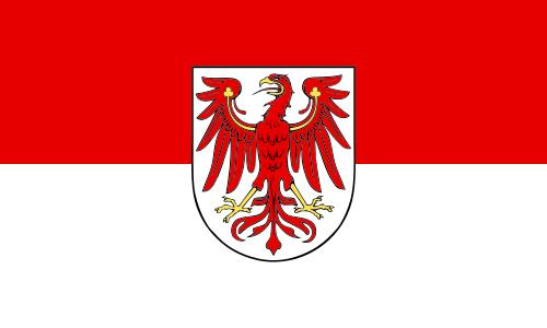 Brandenburg Landesdienst Flagge 90x150 cm