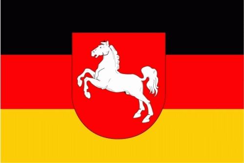 Niedersachsen Flagge 150x250 cm