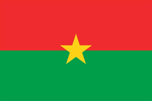 Burkina Faso Flagge 90x150 cm