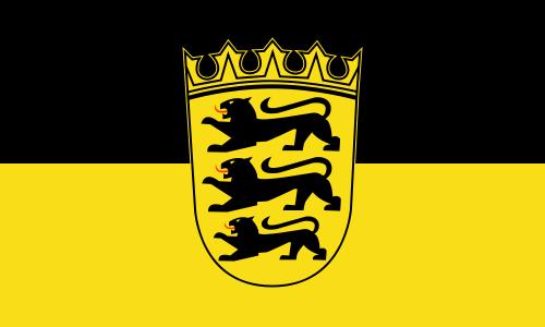 Baden-Württemberg Flagge 90x150 cm
