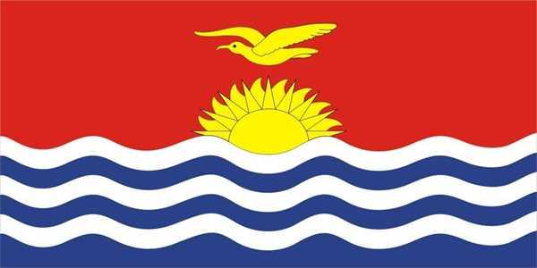 Kiribati Flagge 90x150 cm