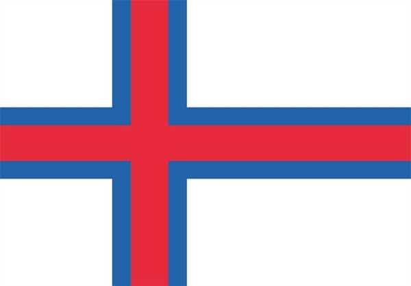 Färöerinseln Flagge 90x150 cm