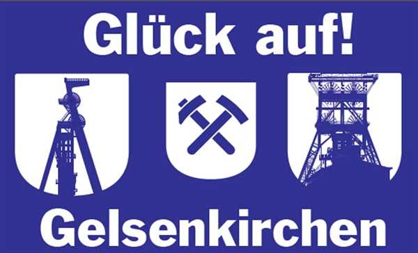 Gelsenkirchen Fördertürme 90x150 cm