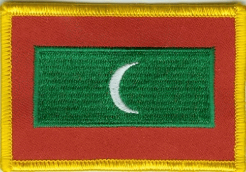 Malediven Aufnäher / Patch