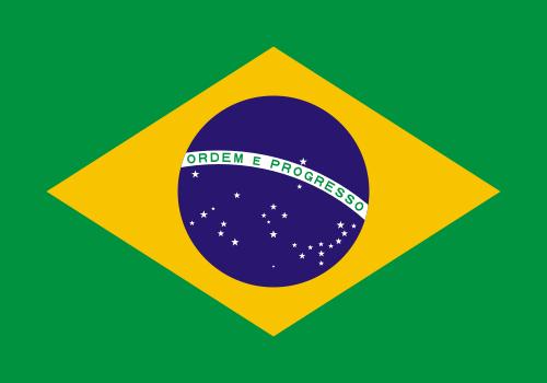 Brasilien Flagge 150x250 cm 75d (L)