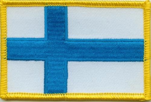 Finnland Aufnäher / Patch