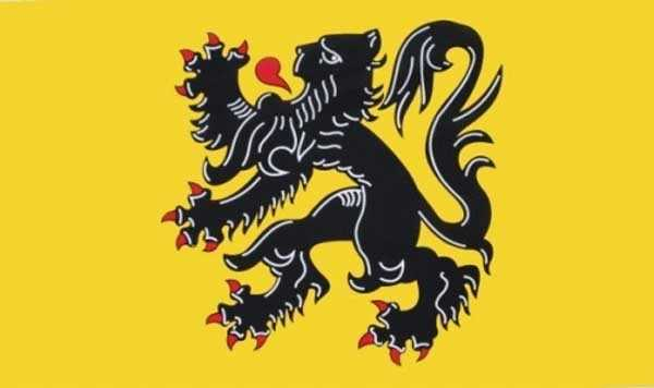Flandern (Region) Belgien Flagge 90x150 cm