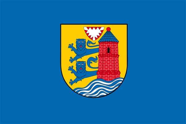 Flensburg Stadt Flagge 90x150 cm
