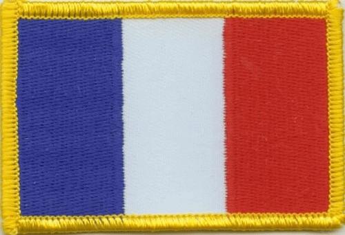 Frankreich Aufnäher / Patch