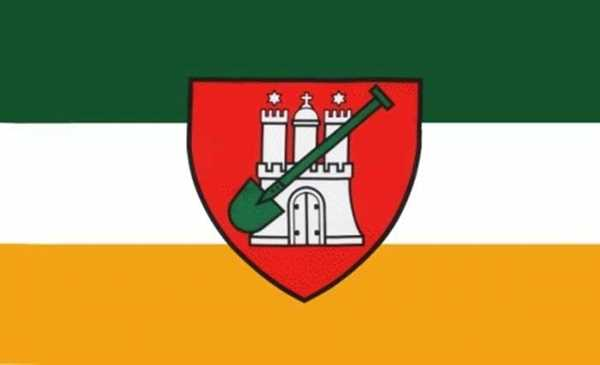 Hamburg Garten Flagge 90x150 cm