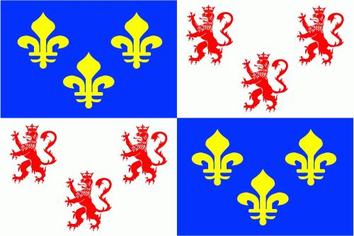 Picardie Region Flagge 90x150 cm