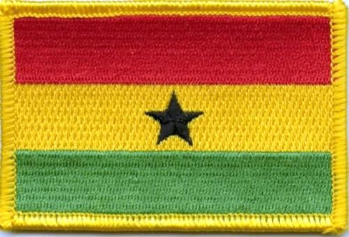 Ghana Aufnäher / Patch