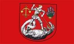 Heide Stadt in Dithmarschen Flagge 90x150 cm