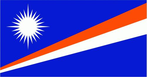 Marshall Inseln Flagge 90x150 cm