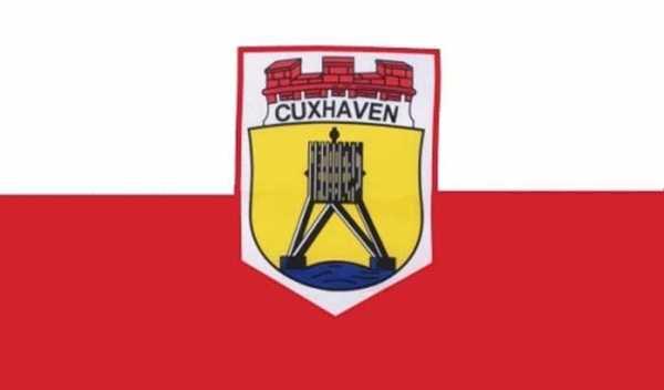 Cuxhaven Stadt Flagge 90x150 cm
