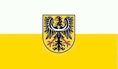 Niederschlesien Flagge 90x150 cm