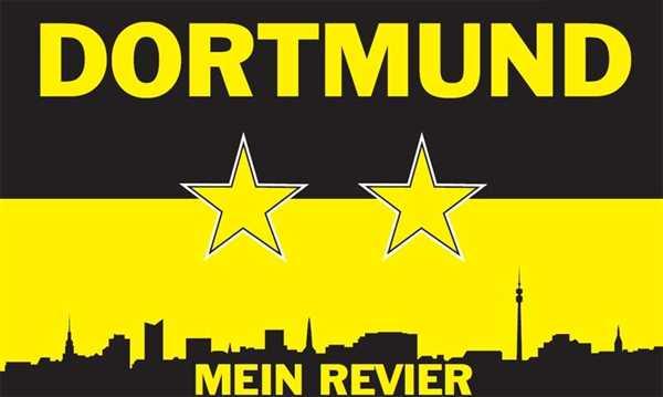 Dortmund Mein Revier Flagge 90x150 cm