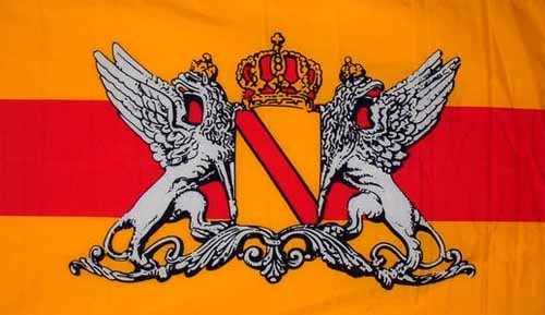 Großherzogtum Baden (orange) Flagge 90x150 cm