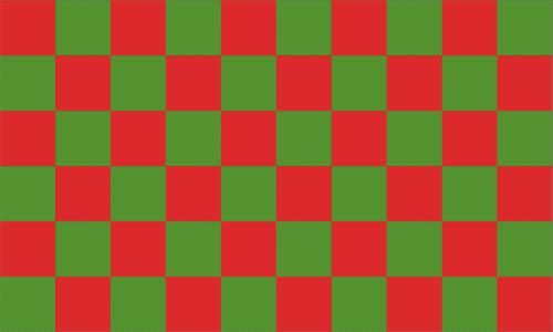 Karo rot - grün Flagge 90x150 cm