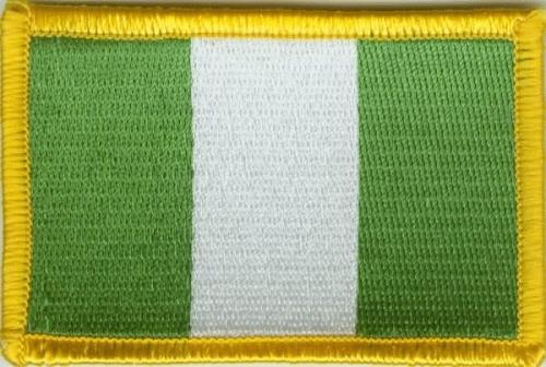 Nigeria Aufnäher / Patch