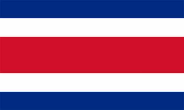 Costa Rica Flagge 90x150 cm