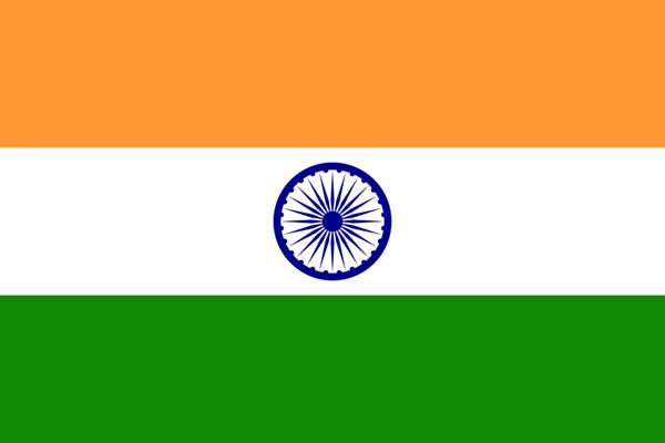 Indien Flagge 90x150 cm