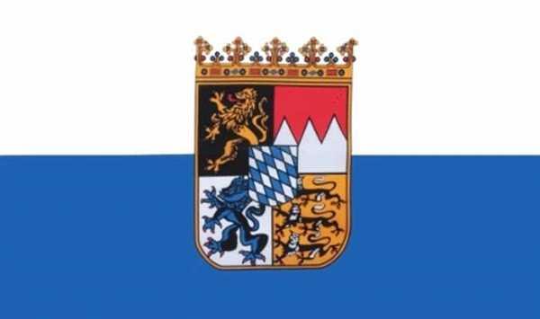Bayern Landesdienst Flagge 90x150 cm