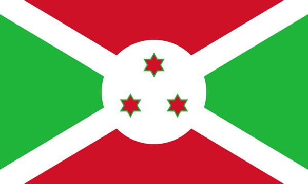 Burundi Flagge 90x150 cm