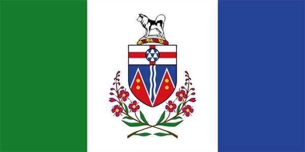 Yukon Territorium Flagge 90x150 cm