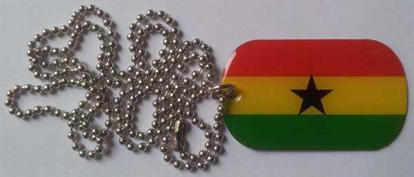 Ghana Dog Tag 30x50 mm (Erkennungsmarke)