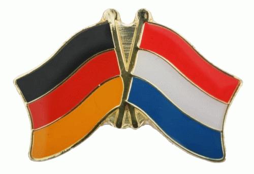 Deutschland / Niederlande Freundschaftspin
