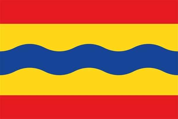 Overijssel (Provinz) Niederlande Flagge 90x150 cm