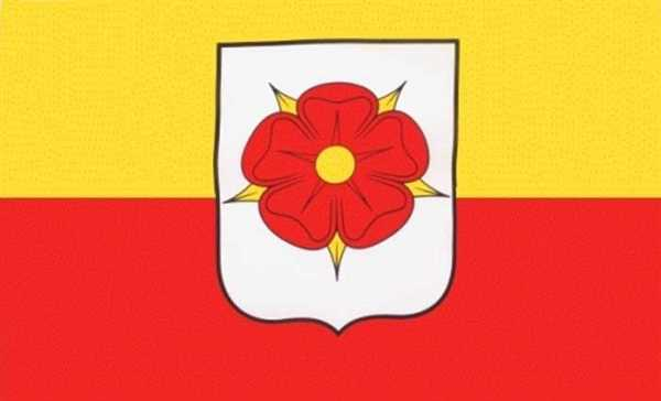Lippe Kreis-Detmold Flagge 90x150 cm