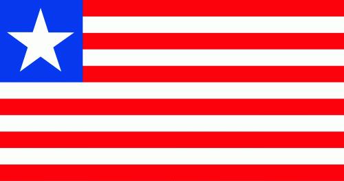 Liberia (Republik Liberien) Flagge 90x150 cm