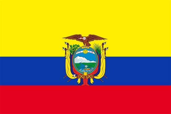 Ecuador Flagge 90x150 cm