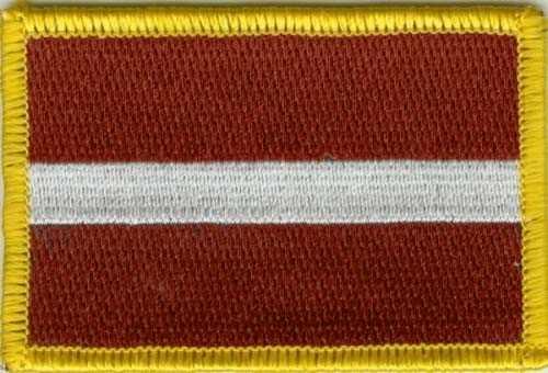 Lettland Aufnäher / Patch