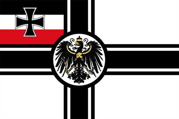 Kaiserliche Marine, RKF, Reichskriegsflagge 90x150 cm