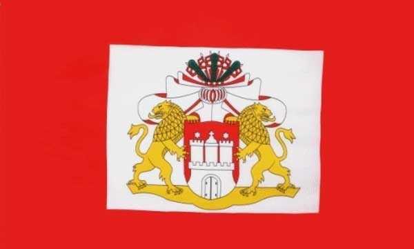 Hamburg Senat Flagge 90x150 cm