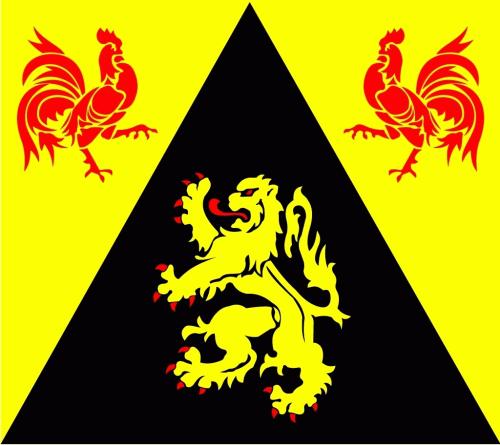 Wallonisch-Brabant (Provinz) Flagge 90x150 cm