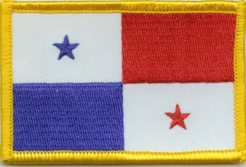 Panama Aufnäher / Patch