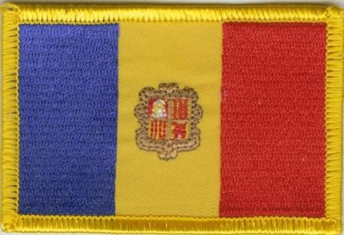 Andorra Aufnäher / Patch