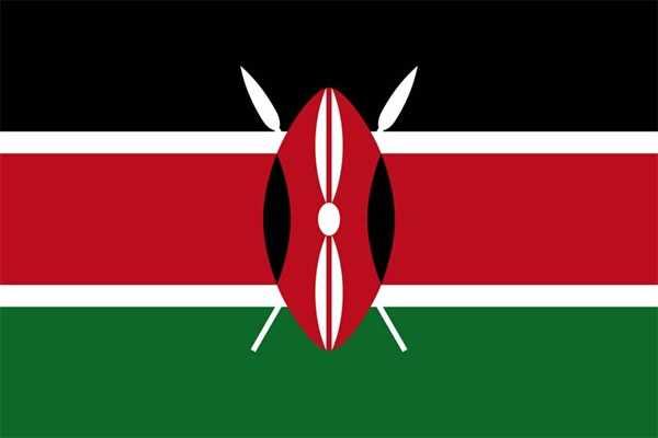 Kenia Flagge 90x150 cm