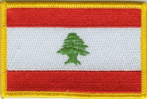 Libanon Aufnäher / Patch