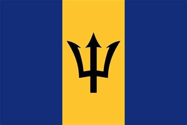 Barbados Flagge 90x150 cm