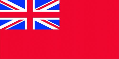Großbritannien - Red Ensign Flagge 90x150 cm