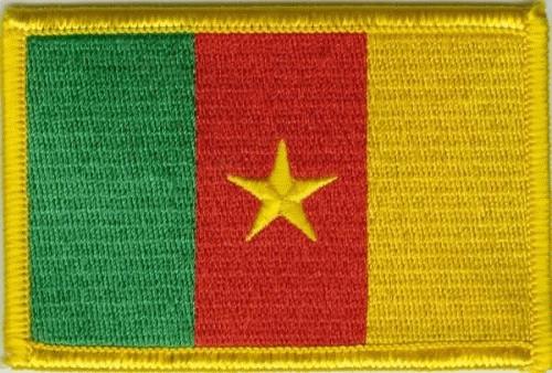 Kamerun Aufnäher / Patch