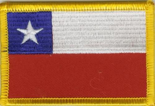 Chile Aufnäher / Patch