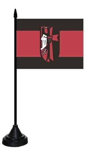 Sudetenland Tischflagge 10x15 cm