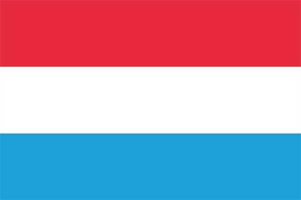 Luxemburg ohne Wappen Flagge 90x150 cm